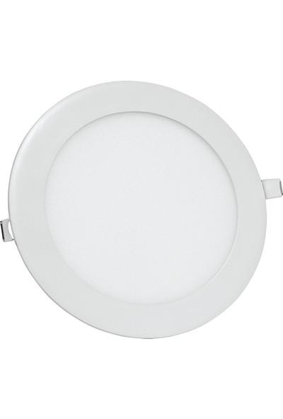 Yuvarlak LED Panel Beyaz 15 w