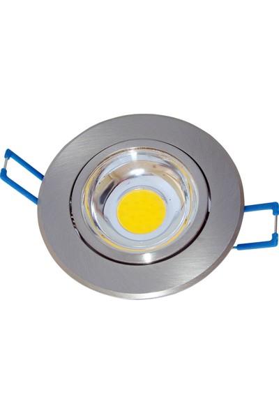 Cob LED Armatur Saten Kasa 5 w