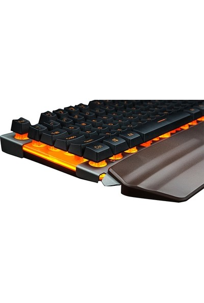 Inca Emidio IKG-400 Orange Backlight Mekanik Hisli Gaming Klavye
