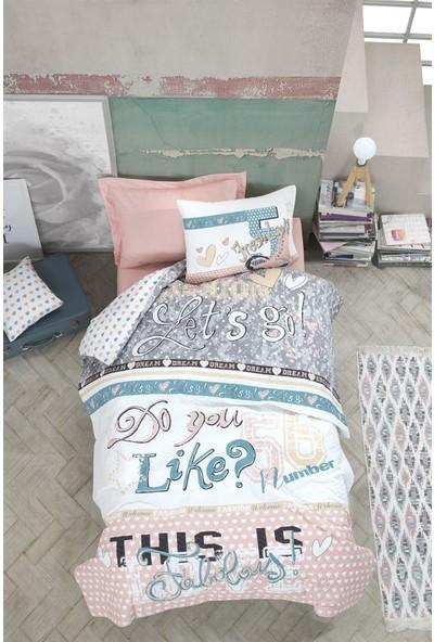 Cotton Box Genç Odası Tek Kişilik Complete Set - Fashion Pudra