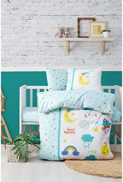 Cotton Box Bebek Nevresim Takımı - Tatlı Rüyalar Mint