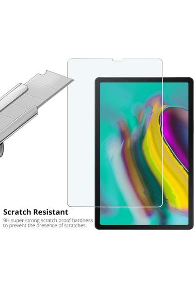 Samsung Galaxy Tab A 10.1 2019 T510 Tempered Cam Ekran Koruyucu Şeffaf