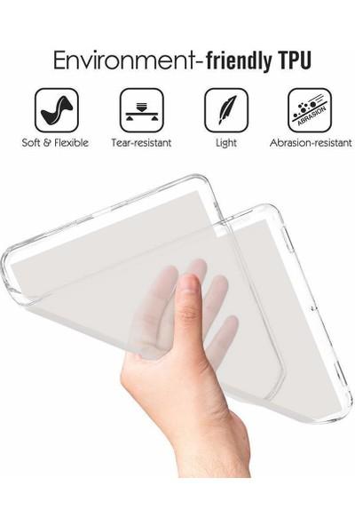 Samsung Galaxy Tab A 8.0 T290 T295 2019 Buzlu Silikon Şeffaf