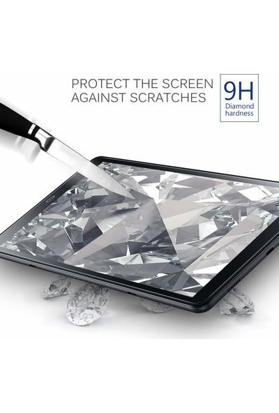 Samsung Galaxy Tab S5E 10,5 2019 T720 T725 Tempered Cam Koruyucu Şeffaf