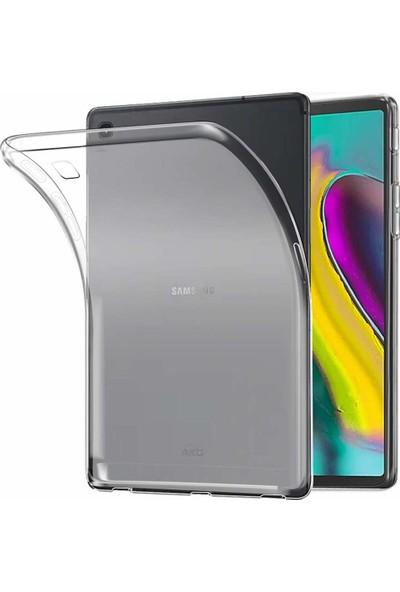 Samsung Galaxy Tab S5E 10,5 T720 T725 Kılıf Silikon Buzlu Şeffaf