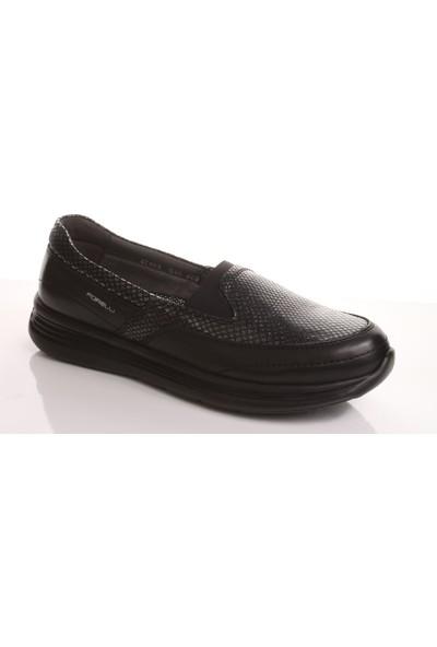 Forelli 27603 Kadın Siyah Günlük Ayakkabı