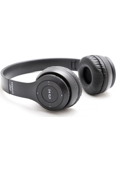 Dost P47 Bluetooth Kulaklık Siyah