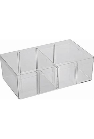 Hipaş Plastik - Şeffaf Kapaklı Kutu - Hp-33