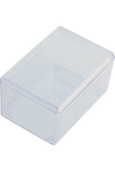 Hipaş Plastik - Şeffaf Kapaklı Kutu - Hp-30