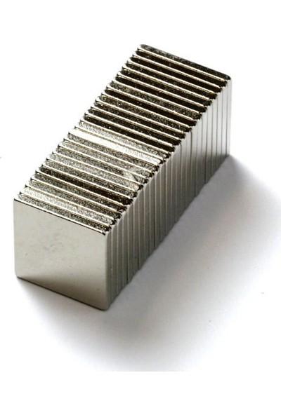 Dünya Magnet Neodyum Mıknatıs Blok 10 x 10 mm 25'li