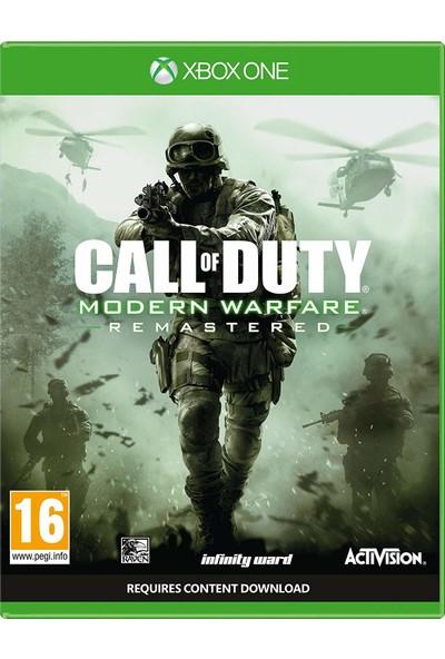 Call Of Duty: Modern Warfare Remastered Xbox One Oyun