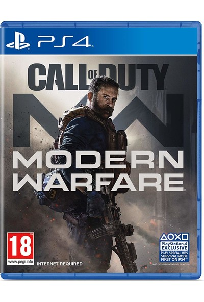 Call Of Duty: Modern Warfare PS4 Oyun