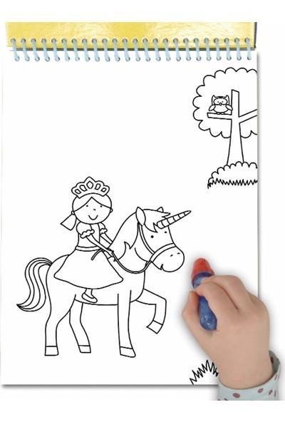 Galt Sihirli Boyama Kitabı Water Magic Unicorns