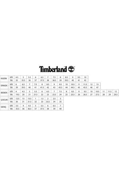 Timberland Euro Sprint Fabric Waterprof Erkek Bot Siyah