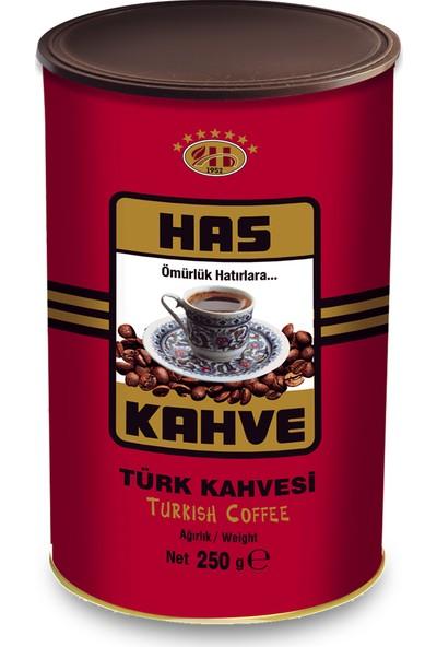 Has Kahve Türk Kahvesi Teneke 250 gr