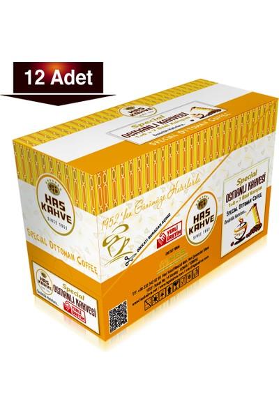 Has Kahve Special Osmanlı Türk Kahvesi 12'li 100 gr