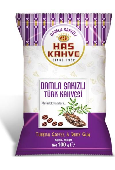 Has Kahve Damla Sakızlı Türk Kahvesi 12'li 100 gr
