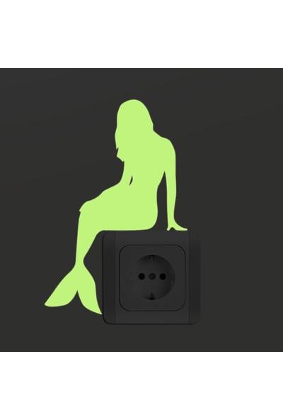 DekorLoft Dekor Loft Gece Parlayan Çocuk Odası Priz Sticker Fps-10
