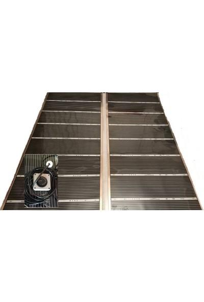 Heat Plus Termostatlı Halı Altı Karbon Film Isıtıcı 160 x 275 6m2