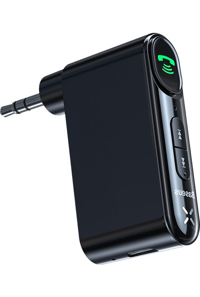 Baseus Aux Bluetooth 5.0 Adaptör 3.5mm Jack