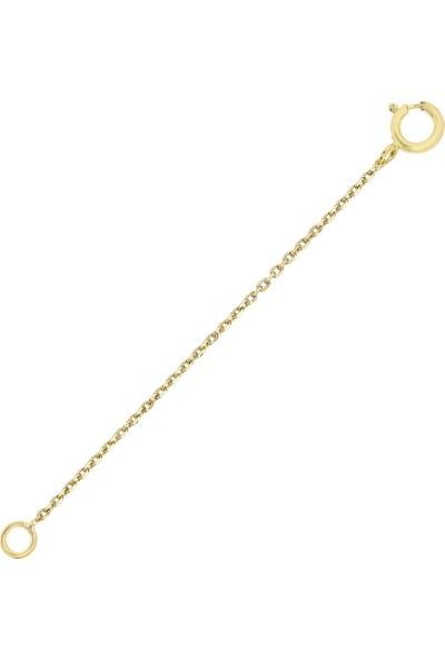 Altın Sepeti Altın Kolye Uzatma Zinciri Asu01Zcr
