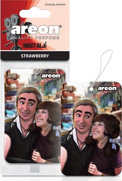 Areon Nostalji Strawberry Araç Kokusu