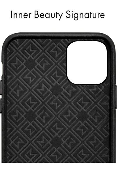 Spigen Apple iPhone 11 Pro Kılıf La Manon Câlin Premium Deri Tasarım Chic Black - 077CS27116
