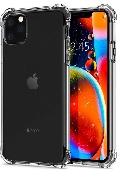 Spigen Apple iPhone 11 Pro Kılıf Rugged Crystal Clear - ACS00060