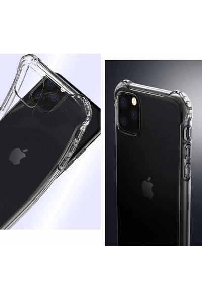 Spigen Apple iPhone 11 Pro Max Kılıf Rugged Crystal Clear - ACS00061