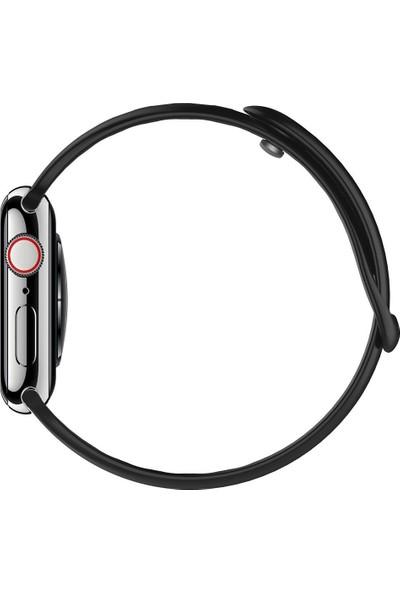 Spigen Apple Watch 40mm / 38mm (Seri 1/2/3/4/5 ile Uyumlu) Kayış AirFit Black - 061MP25405