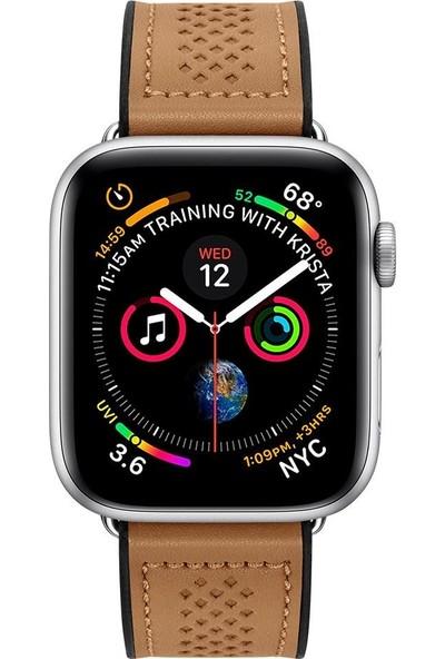 Spigen Apple Watch 40mm / 38mm (Seri 1/2/3/4/5 ile Uyumlu) Kayış RetroFit Brown - 061MP25077