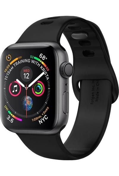 Spigen Apple Watch 44mm / 42mm (Seri 1/2/3/4/5 ile Uyumlu) Kayış AirFit Black - 062MP25400