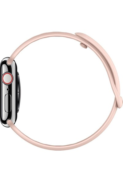 Spigen Apple Watch 44mm / 42mm (Seri 1/2/3/4/5 ile Uyumlu) Kayış AirFit Rose Gold - 062MP25401