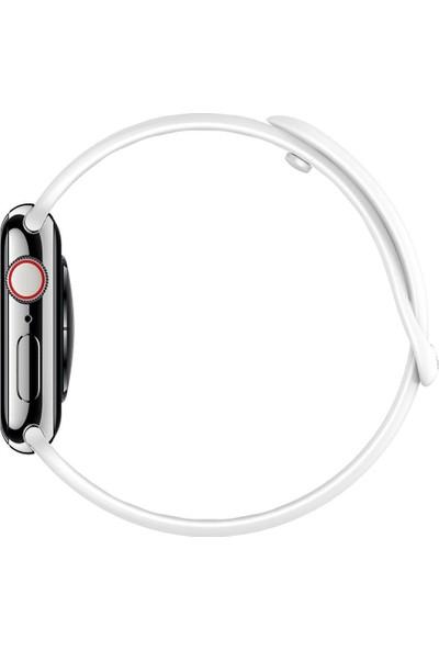 Spigen Apple Watch 44mm / 42mm (Seri 1/2/3/4/5 ile Uyumlu) Kayış AirFit White - 062MP25402