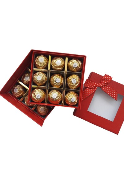 GiftiGifti Doğum Günü Çikolata Paketi 225 gr ve Ayıcık