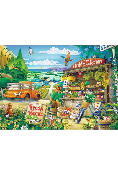 Trefl Puzzle Morning In The Countryside 500 Parça