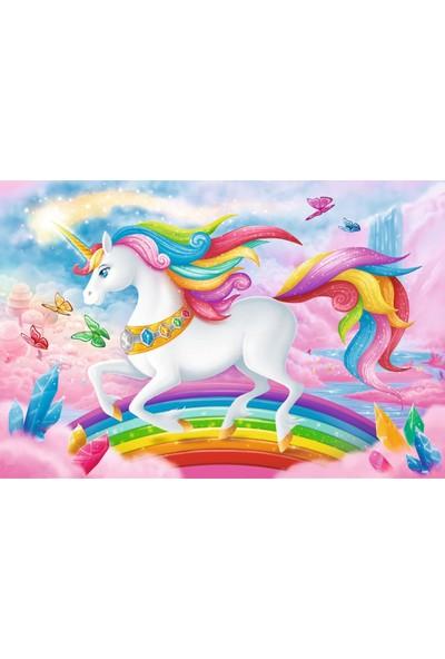 Trefl Puzzle Into The Crystal World Of Unicorns 100 Parça Puzzle
