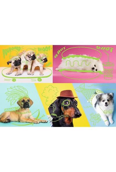 Trefl Puzzle Far Out Dogs 1000 Parça Neon Puzzle