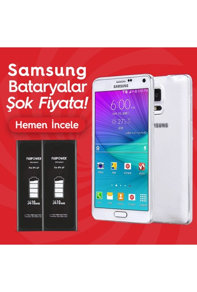 Fujipower Samsung Galaxy S6 G920 Batarya Pil 2550 Mah