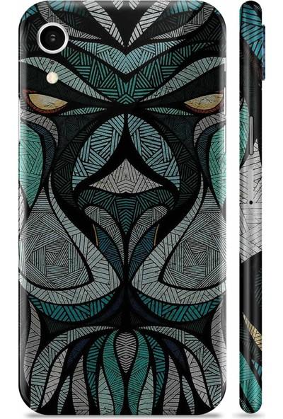 Renkli Garaj Apple iPhone XR Wakanda Telefon Kaplaması