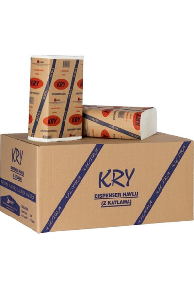 Kry Tedarik Ext. Dispanser Havlu 12*150