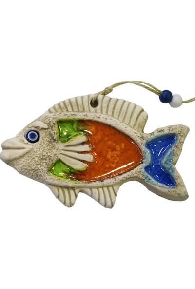 Ms Duvar Süsü Askılı Çini Balık No:2