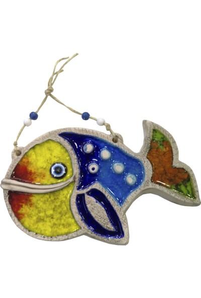 Ms Duvar Süsü Askılı Çini Balık No:4