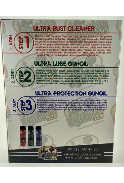 Roebuck 505 Silah Yağı Seti Pas Çözücü Bakım Yağı Koruma Yağı