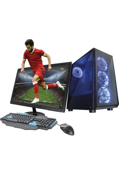 TURBOX ATM920006 Ryzen3 1200 8GB Ram 1TB HDD 4GB GTX1050Tİ Ekran Kartı 21,5'' Monitörlü Masaüstü Bilgisayarı
