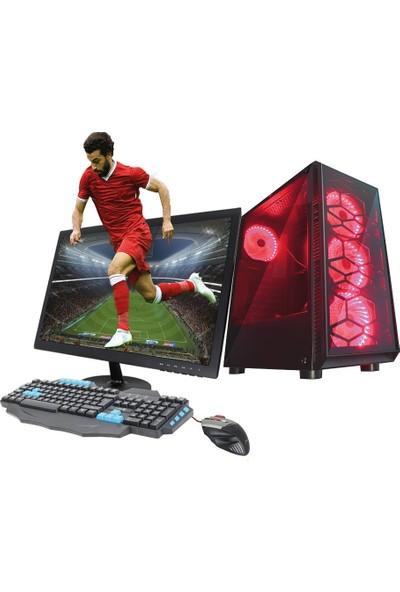 TURBOX ATM9916163 Ryzen5 1600 İşlemci 4GB Ram 500GB Hdd GT1030 2GB Ekran Kartı 21.5'' Monitör Masaüstü Oyun Bilgisayarı