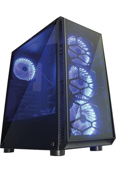 TURBOX ATM920005 Ryzen3 1200 8GB Ram 1TB HDD 4GB GTX1050TI Ekran Kartı Masaüstü Bilgisayarı