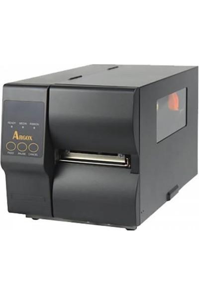 Argox Ix4-240 Thermal + Thermal Transfer Serı + Usb + Ethernet 152Mm/Sn 203Dpi Barkod Yazıcı