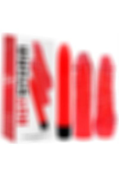 Chisa Novelties Hot Storm Değiştirilebilir Başlıklı Jel Vibratör Seti