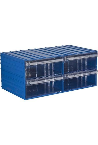 Hipaş Plastik Çekmeceli Kutu - 401-4